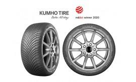 Kumho пуска нова всесезонна гума Solus 4s ha32 на пазара през 2020г
