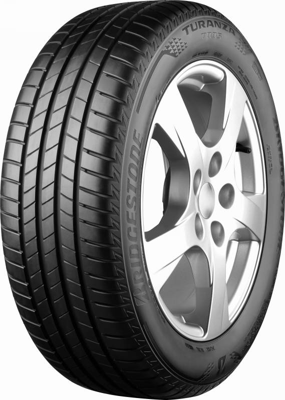 5-то място  Bridgestone Turanza T005  205/55 R16 91V  Евромаркировка : Е/B-70  Цена 126,93лв
