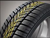 Гумите Dunlop SP WinterSport 4D осигяряват контрол и сцепление на автомобила на мокри пътни настилки